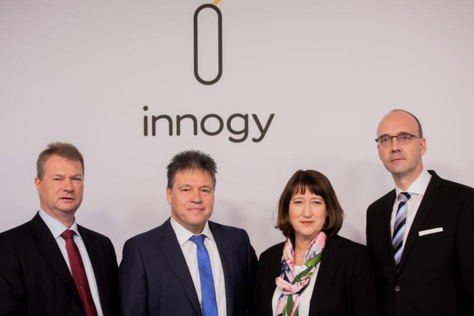 Der Vorstand von Innogy am Montag.