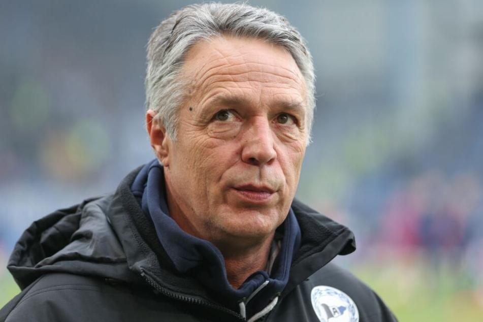 Die letzten drei Auswärtsspiele hat DSC-Trainer Uwe Neuhaus allesamt gewonnen.
