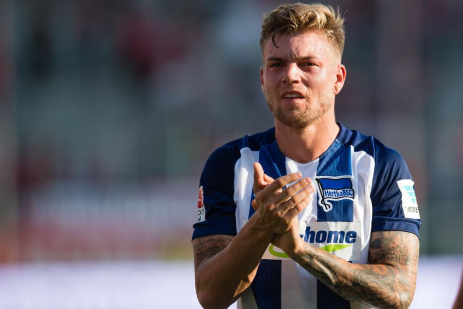 Alexander Esswein absolvierte 52 Spiele für Hertha BSC, in denen er viermal traf.