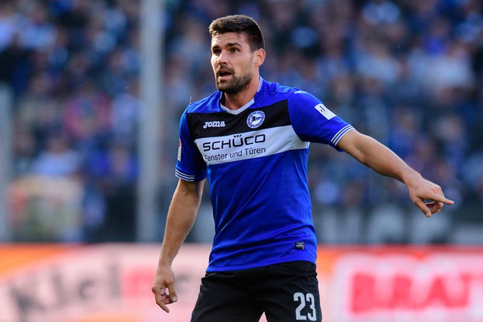 Florian Dick ist mit seinen 33 Jahren der älteste, im Sommer läuft sein Vertrag aus.