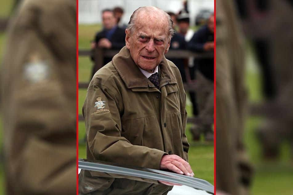 Prinz Philip (97) fehlte beim Kirchenbesuch.
