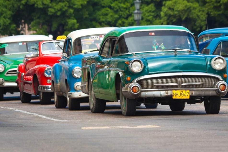 Weit über 100 tolle Oldtimer werden am 6. August auf dem Parkplatz des ElbeParks erwartet.