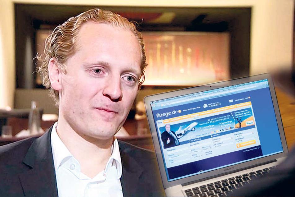Unister-Mitbegründer Daniel  Kirchhof war Finanzvorstand des Unternehmens.