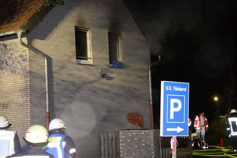 Der Brand machte das Haus unbewohnbar.