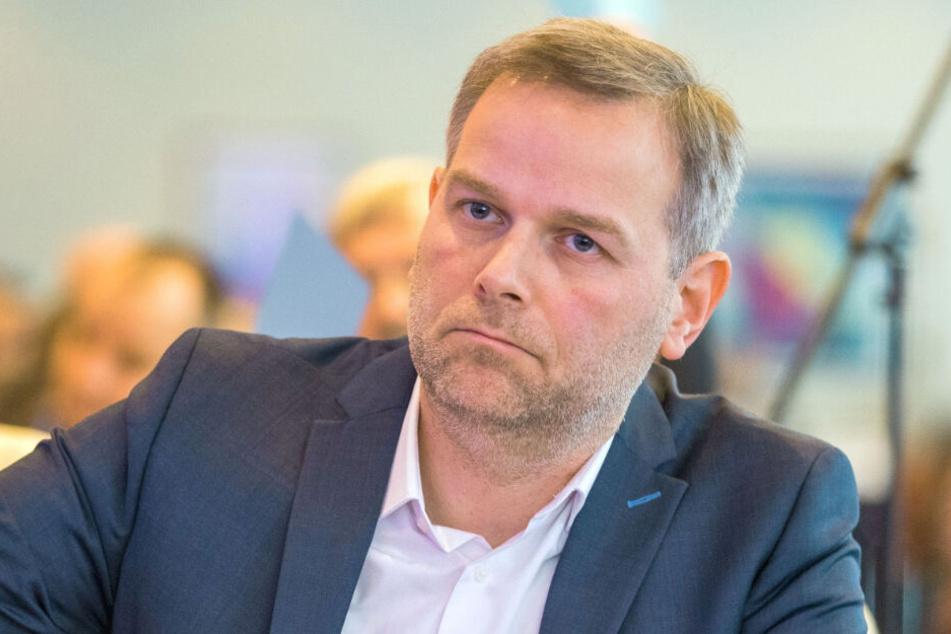 Der AfD-Chef Leif-Erik Holm findet das Verbot willkürlich.