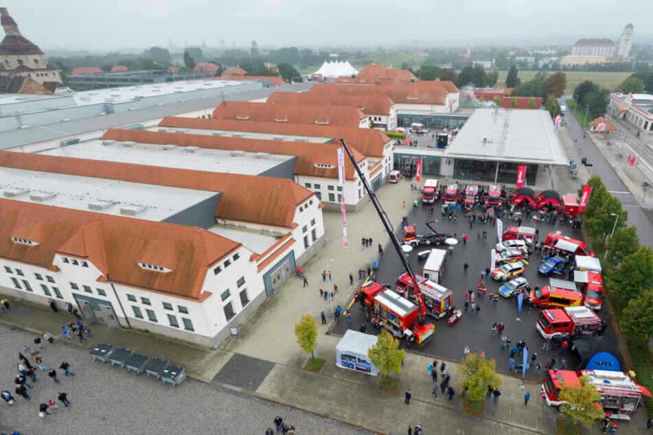 Das Messegelände der Messe Dresden: Hier findet die FLORIAN statt.