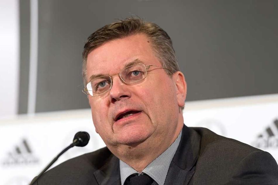 DFB-Präsident und Mitglied des UEFA-Exekutivkomitees, Reinhard Grindel.