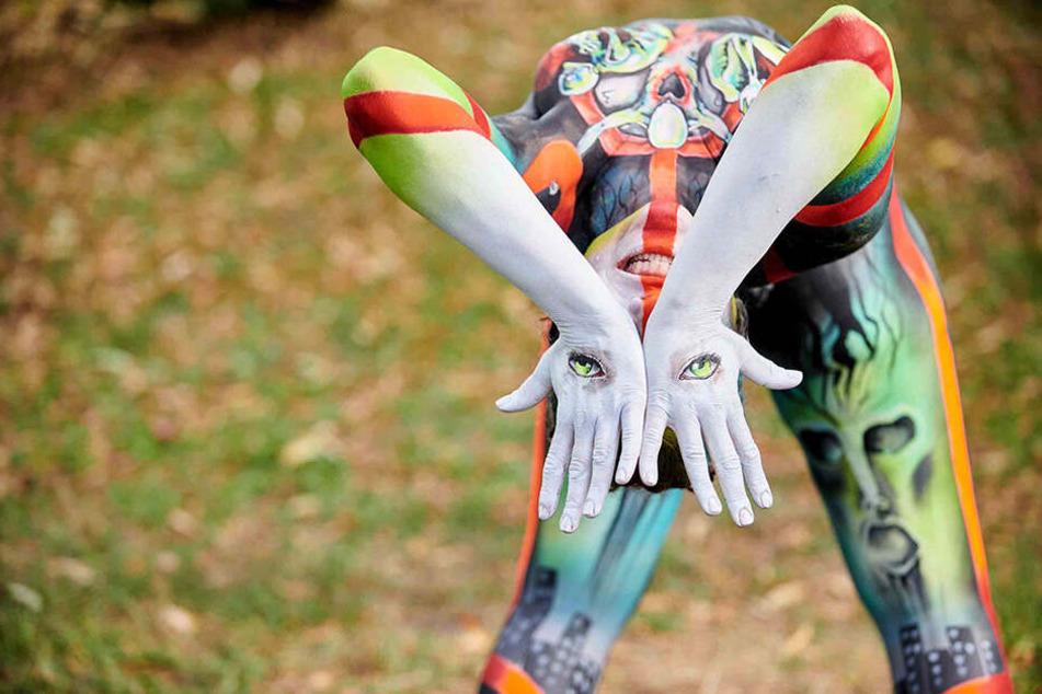 """Mit diesem Motiv zum Thema """"Clear Mind, Clean Earth"""" schaffte es die Künstlerin aufs Weltmeister-Treppchen."""