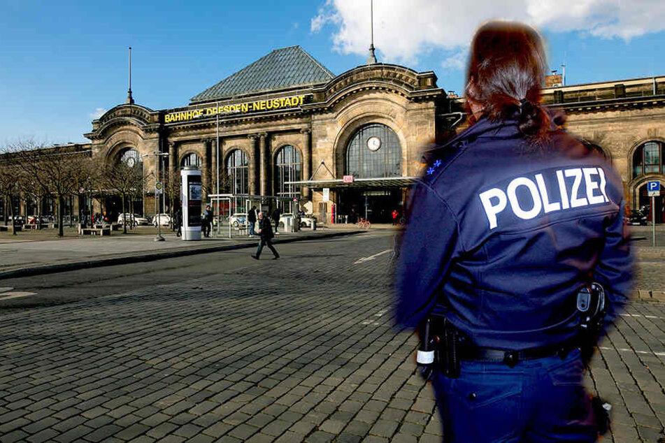 Eine Frau wurde in Dresden nahe dem Bahnhof Neustadt Opfer von sexueller Belästigung.