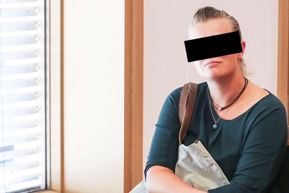 Erst Liebe, dann Hiebe: Melinda M. (29) wurde am Amtsgericht Dresden verurteilt.