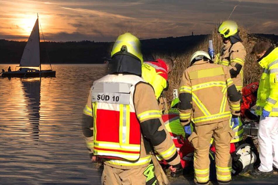 52-Jähriger stirbt beim Radeln am Berzdorfer See