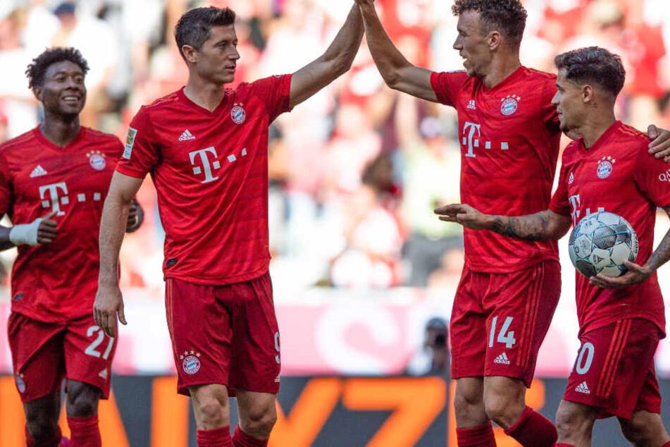 Der FC Bayern München konnte den 1. FSV Mainz 05 deutlich bezwingen.