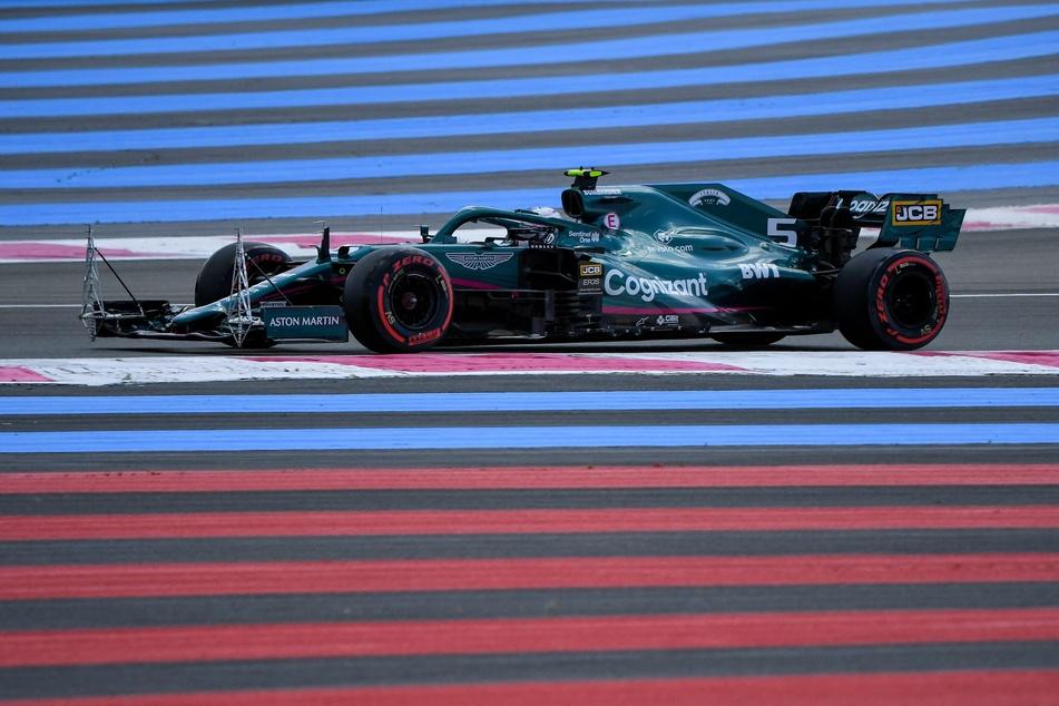 Sebastian Vettel (33) fand sich in Frankreich nach zuletzt Platz zwei in Baku diesmal wieder im grauen Mittelfeld-Alltag wieder.