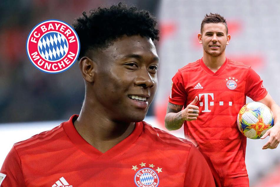 Barca will Bayern-Star! Flüchtet David Alaba vor Rekord-Einkauf Hernández?