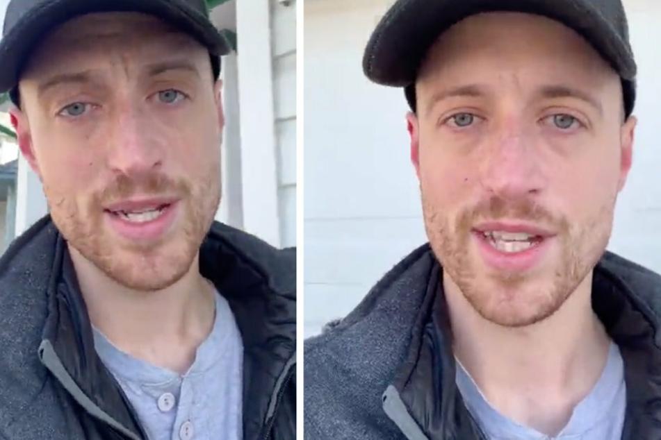 Alex Biron spricht sich mit seinem Video auf TikTok direkt in die Herzen der Menschen.