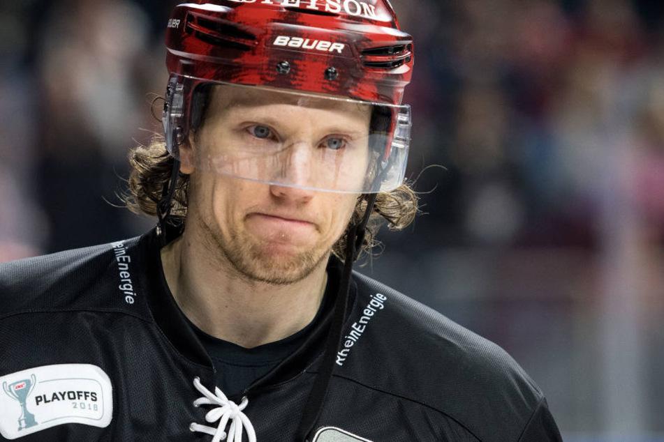 Das Karriere-Aus von Christian Ehrhoff, Kapitän der Kölner Haie, ist ein Paukenschlag für das deutsche Eishockey.