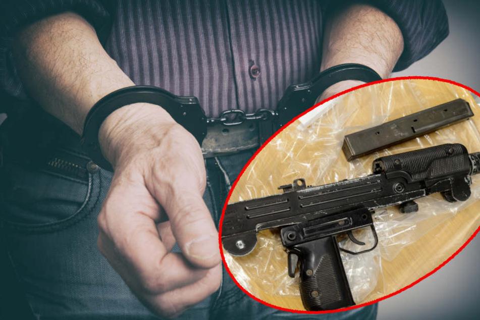 Die Männer wollten die Uzi samt Munition weiterverkaufen. (Symbolbild)