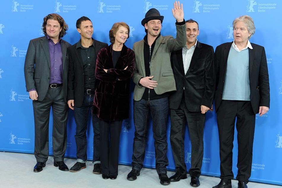 Da war die Welt noch in Ordnung: Vossen bei einer Premiere bei der Berlinale 2012.