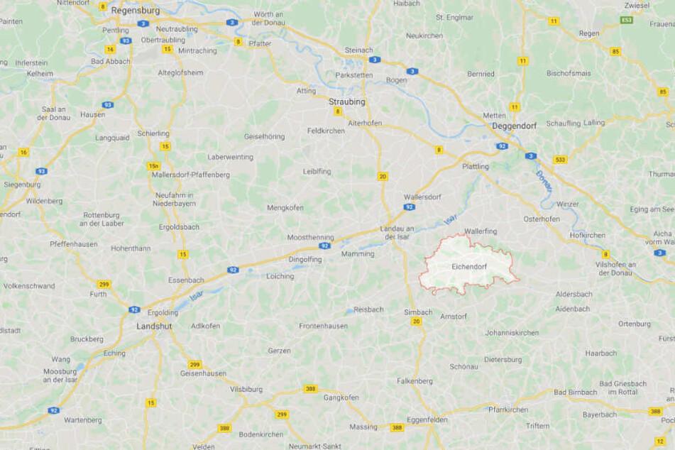 In Eichendorf in Bayern ist es während eines Einbruchs zu einem schlimmen Zwischenfall gekommen.