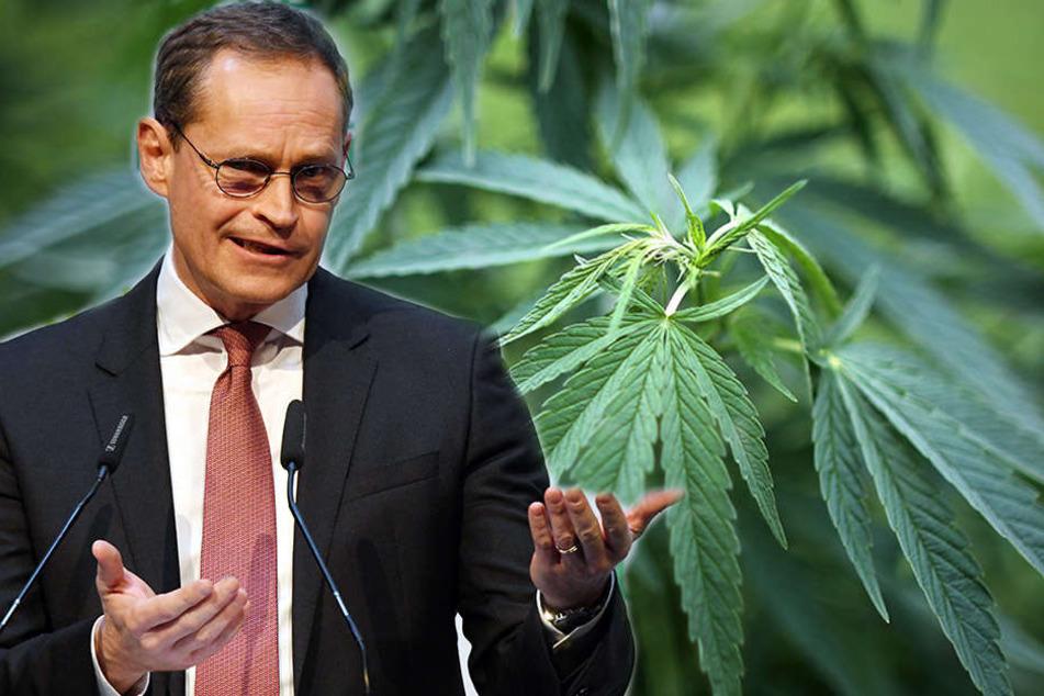 Michael Müller findet Argumente für und gegen die Legalisierung von Cannabis.