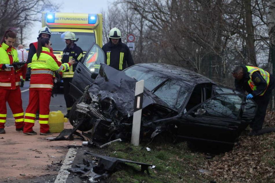 Bei dem Unfall kamen zwei Menschen ums Leben.