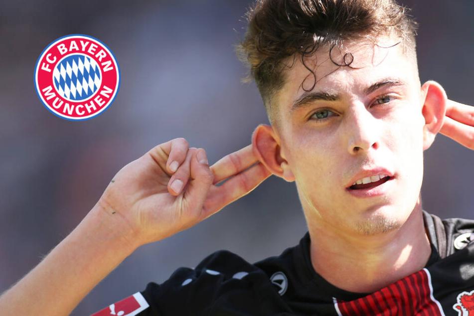 Bayern-Geheimtreffen mit Kai Havertz am Rande von DFB-Spiel?