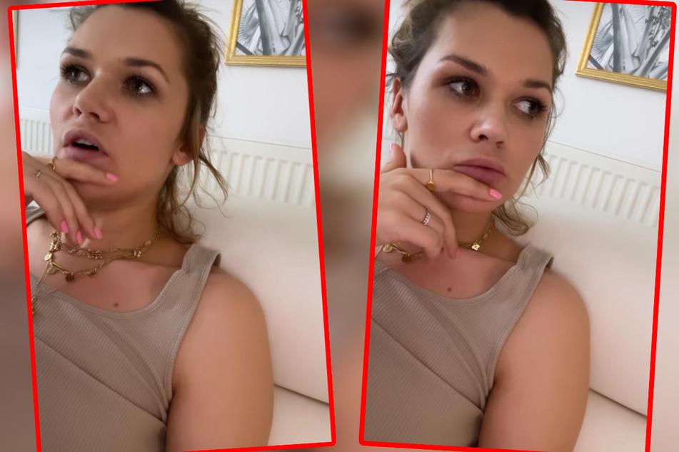 Sara Kulka (30) in Bedrängnis: Töchterchen Annabell möchte plötzlich auf Instagram zu sehen sein. Zum Glück wusste die Model-Mama mit dem Wunsch umzugehen.