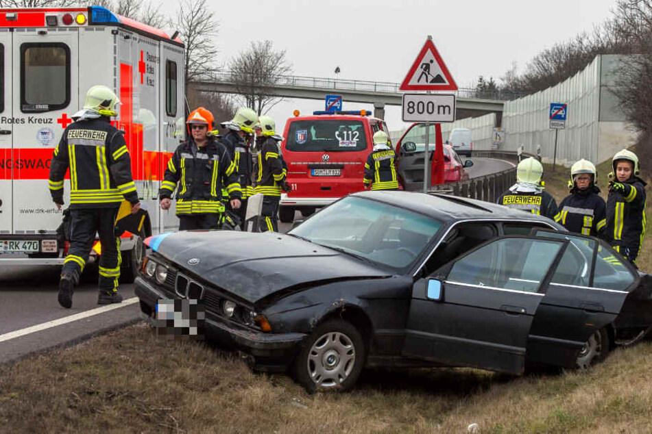 Beim Crash wurden zwei Frauen verletzt.