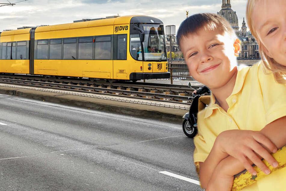 """""""Voll gruselig!"""" Dresdner genervt von Kindern in Straßenbahnen"""