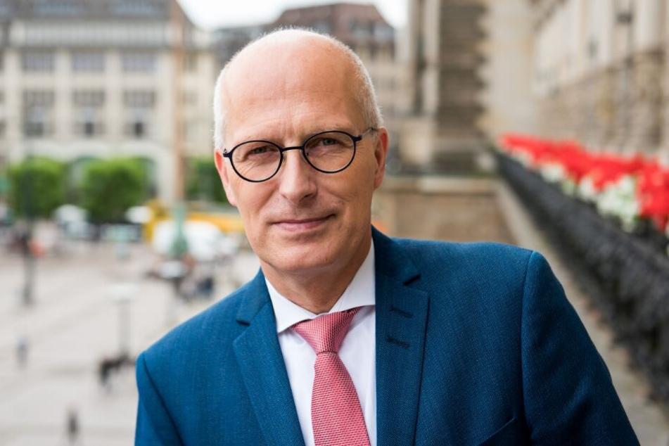 Bürgermeister Peter Tschentscher bleibt gelassen.