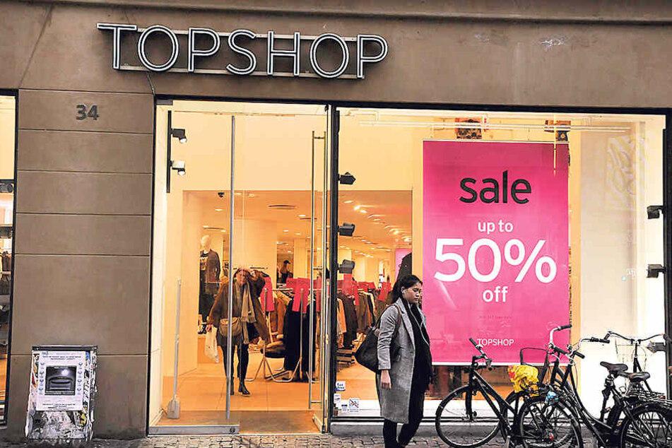 """Die Modekette """"Topshop"""" will nach Dresden kommen."""