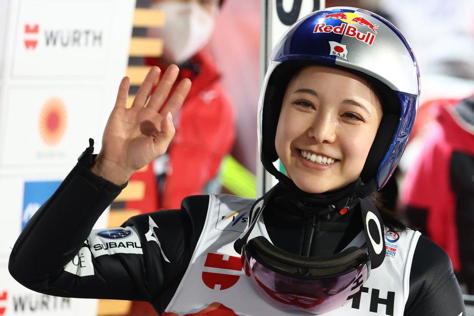 Skispringerin Takanashi gewinnt WM-Quali: Deutsche nicht vorne dabei