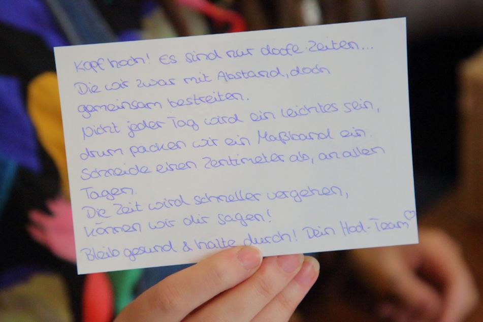 Ein Brief vom Careleaver-Zentrum soll den Ex-Heimkindern Mut und Zuversicht geben.