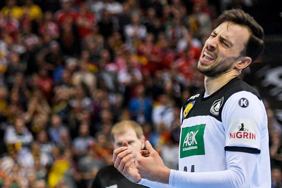Zum Verzweifeln: Deutschland um Patrick Groetzki scheiterte im Halbfinale an Norwegen.