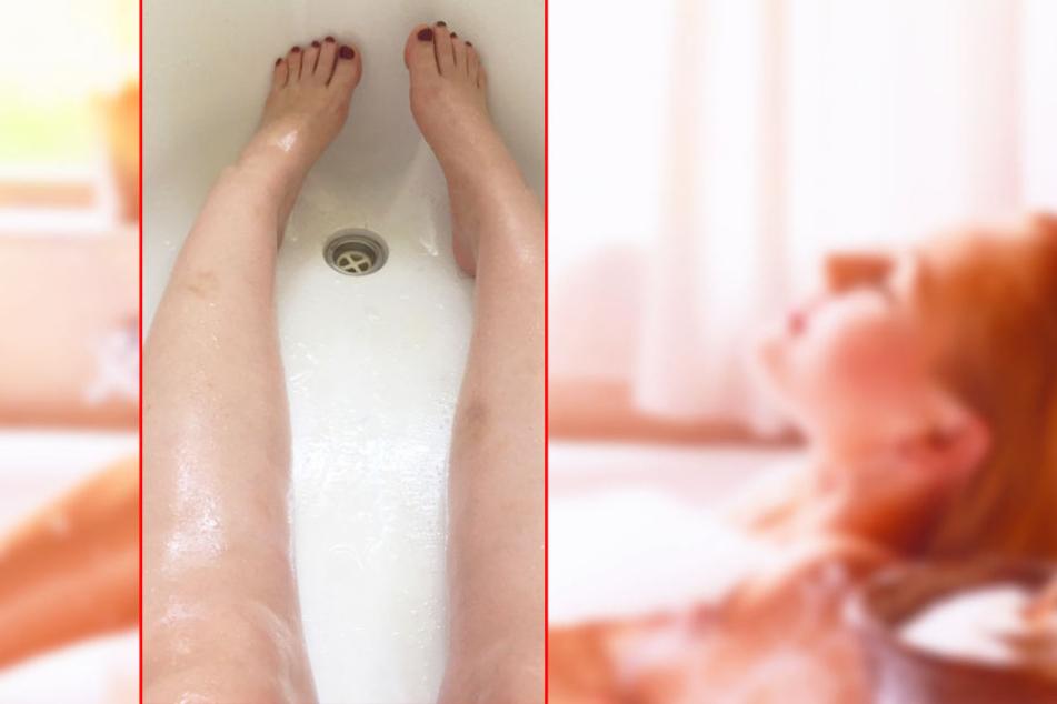 Eine Imgur-Nutzerin wollte eigentlich nur ein entspanntes Bad nehmen, doch das ging gehörig schief.