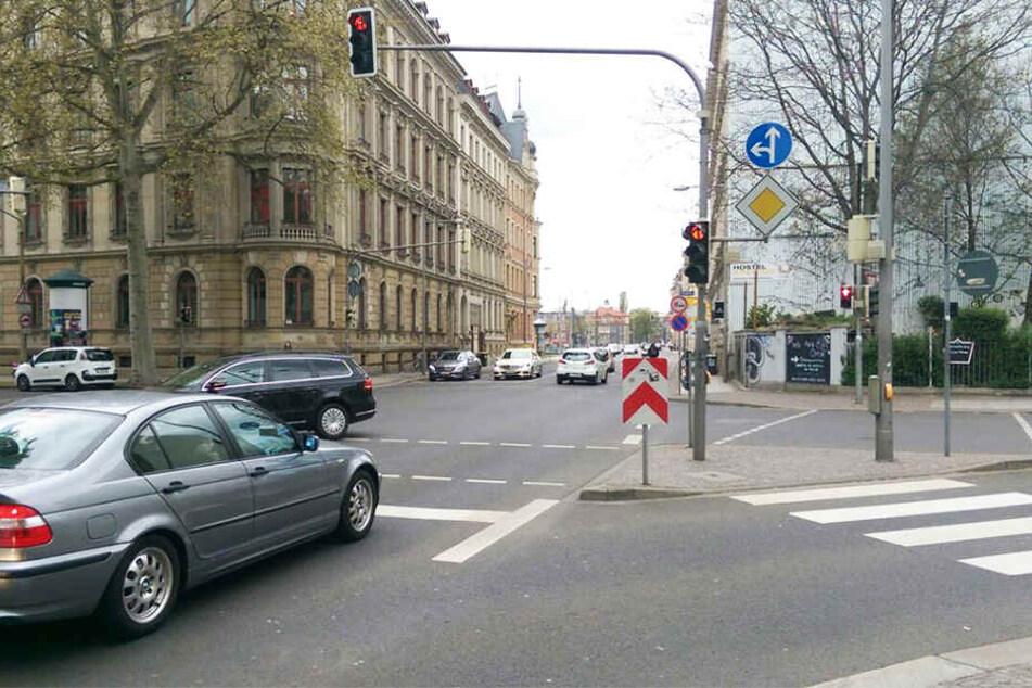 Zu hohe Luftbelastung: Leipzig verändert Fahrspuren zweier Hauptstraßen