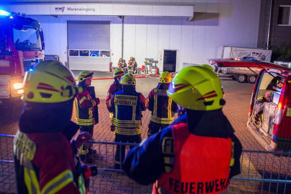Rund 30 Feuerwehrleute waren am Dienstagmorgen im Einsatz.