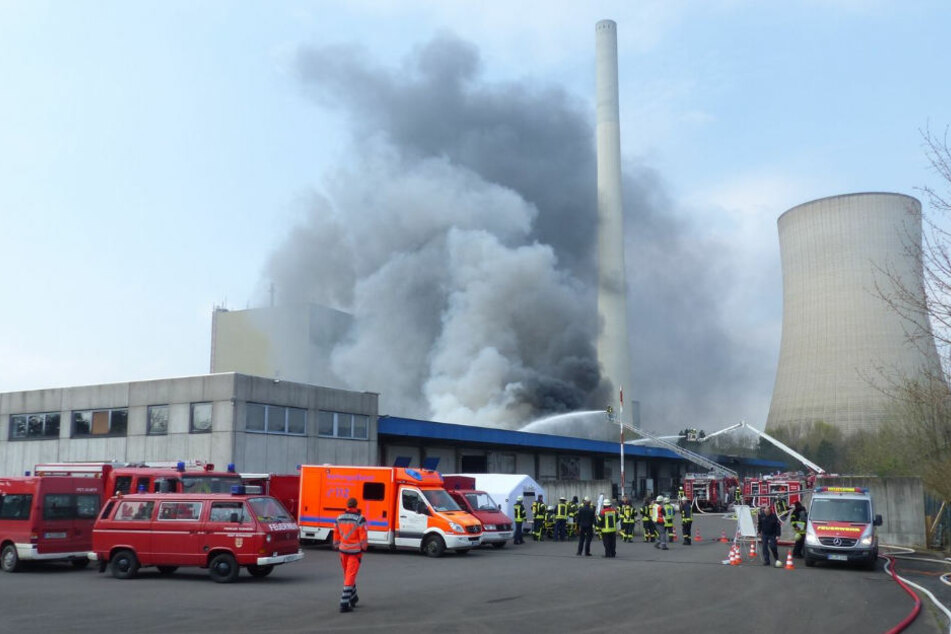 Laut Brandermittler ist das Feuer wohl bei Flexarbeiten ausgebrochen.