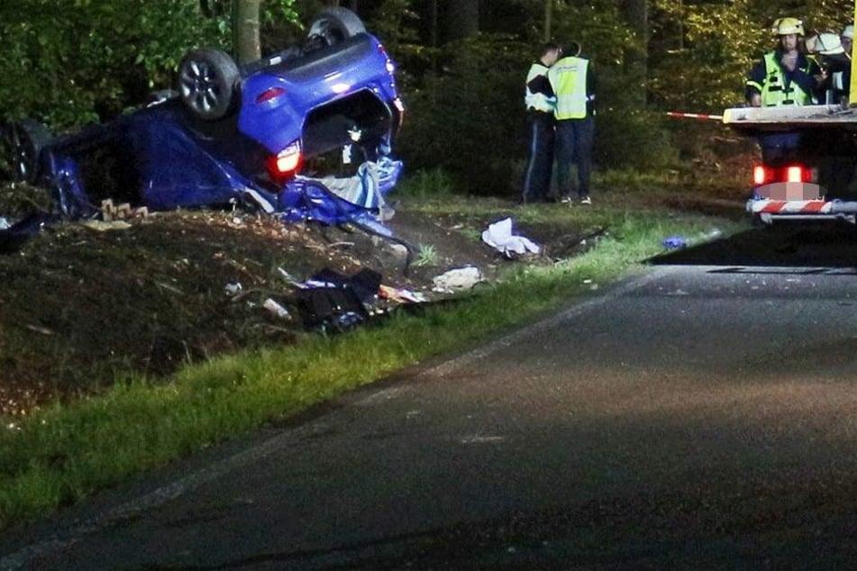 Neue Details zum Horror-Crash! Feuerwehrchef findet tote Tochter im Wrack