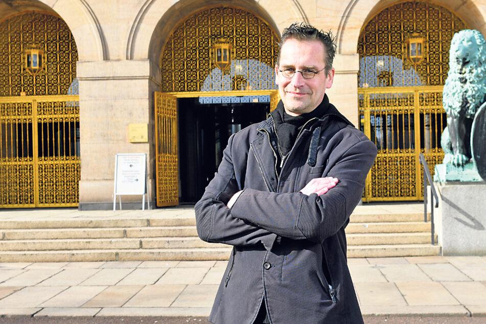 Dissident Martin Schulte-Wissermann (50, Piraten) fordert den Klima-Beirat.