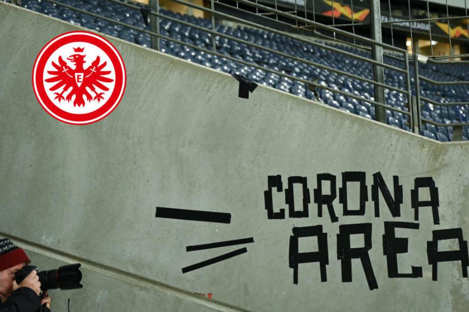Zweiter Profi bei Eintracht Frankfurt positiv auf Coronavirus getestet