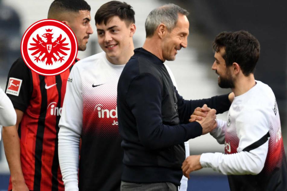 """""""Wir sind alle megastolz!"""": Eintracht Frankfurt nach Sieg gegen Bayern euphorisch"""