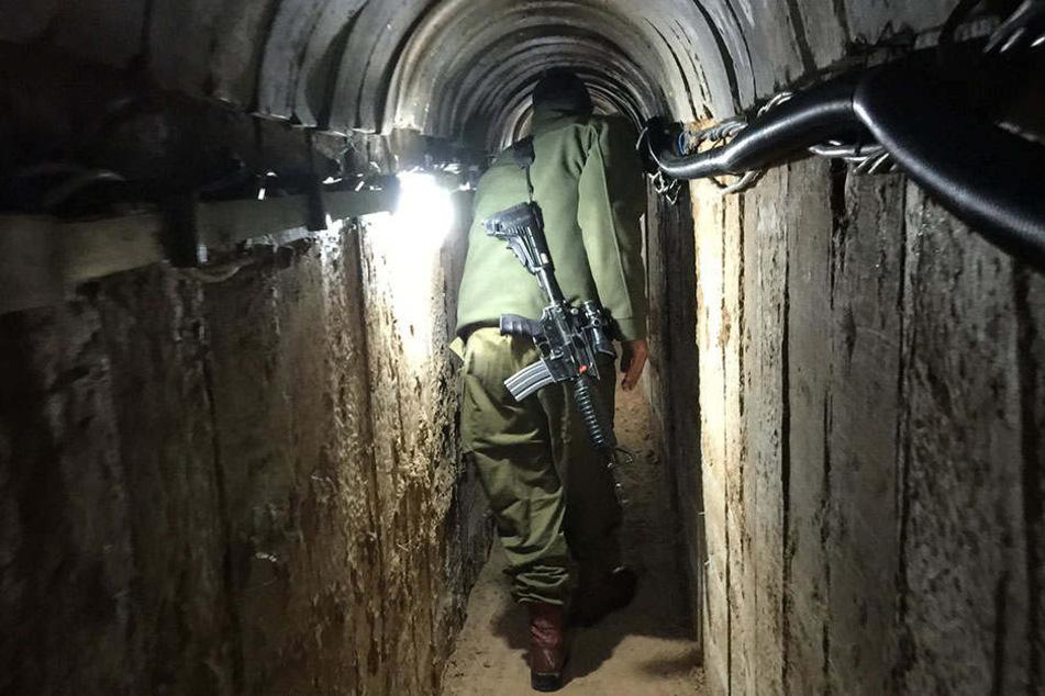 Terror-Tunnel zwischen dem Gaza-Streifen und Israel sowie Ägypten werden regelmäßig zerstört. (Symbolbild)