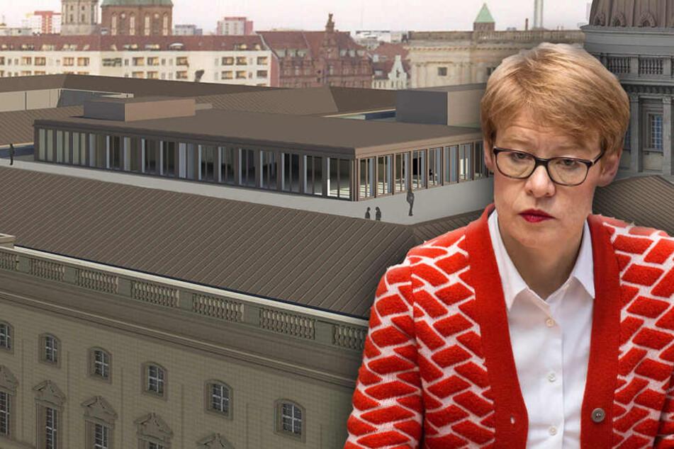 Dieses Dach-Restaurant sorgt für Aufregung bei der Senatsbaudirektorin Regula Lüscher.