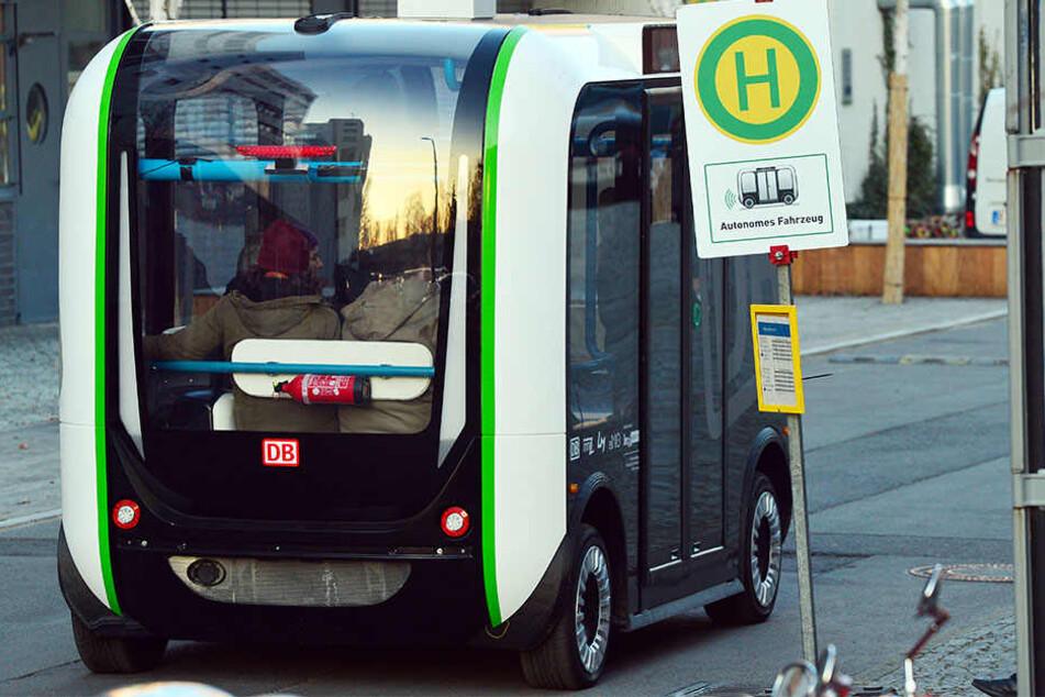 So ein selbstfahrender Elektrobus fährt nun auch bald in Großbeeren umher. (Symbolbild)