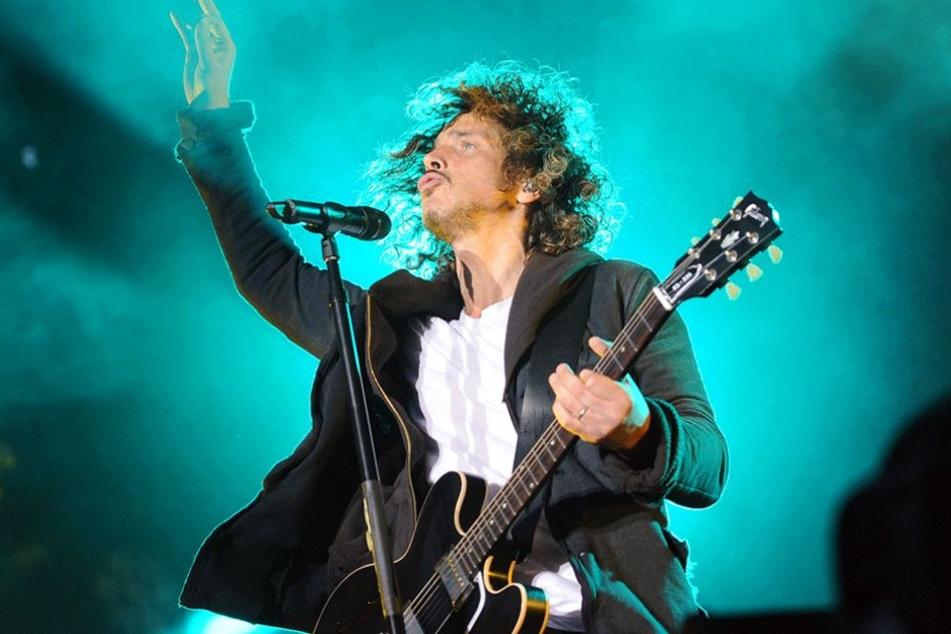 Chris Cornell 2012 beim Soundgarden-Konzert in der Zitadelle Spandau.