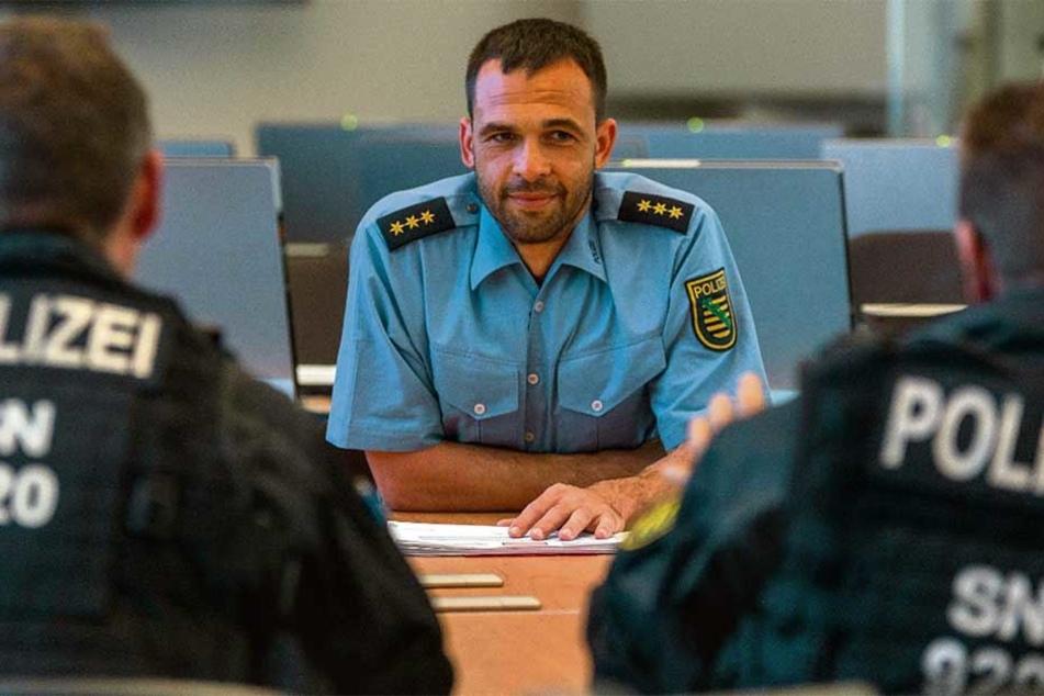 """Ein Mann für alle Fälle: Er ist der """"Demo-Direktor"""" der Dresdner Polizei"""