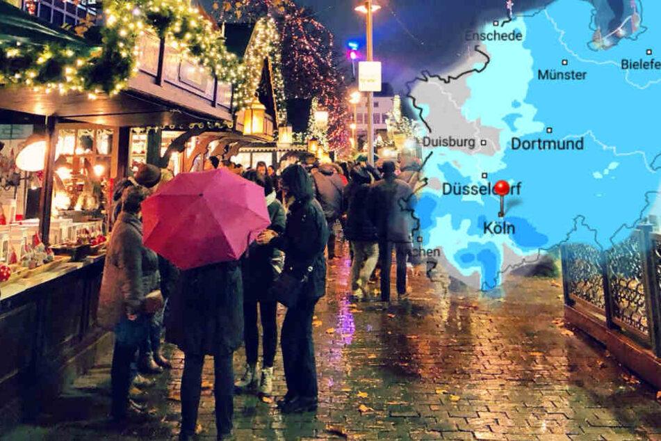 In NRW bleibt das Wetter am Wochenende düster und trübe.