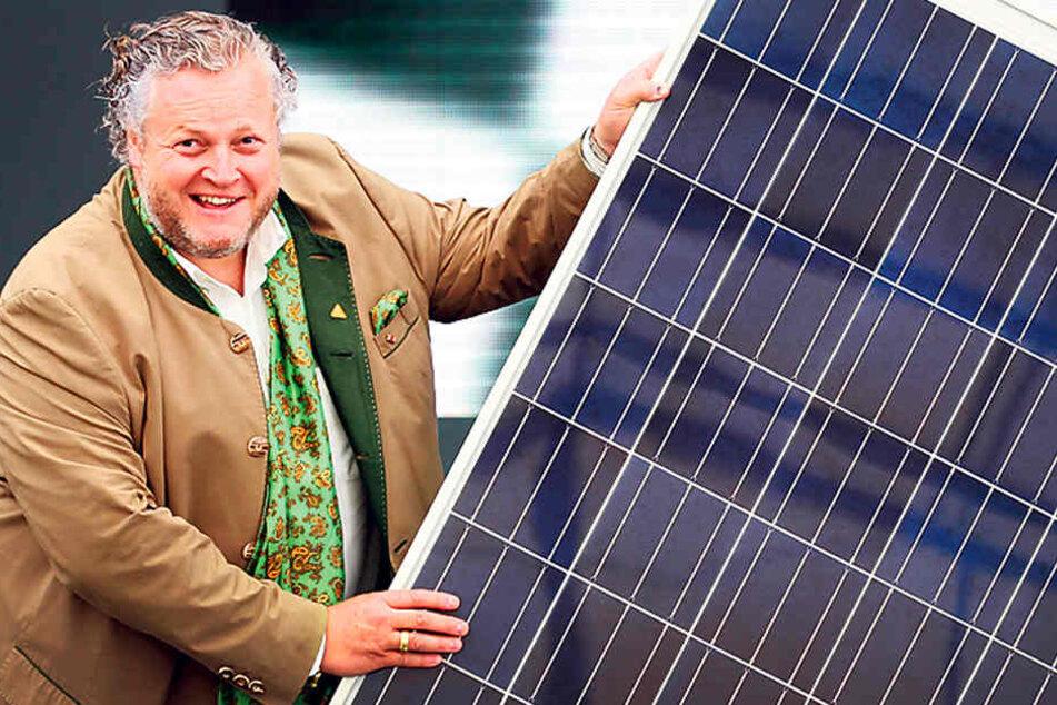 Er baute Solarworld auf, unter ihm ging die Firma auch ein: Frank Asbeck  (57). Hier ein Foto von Ende März.