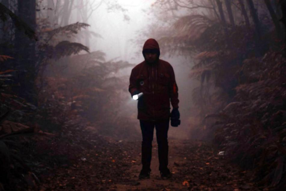 Auf der Suche nach dem Mörder müsst Ihr Euch im Wald zurechtfinden.